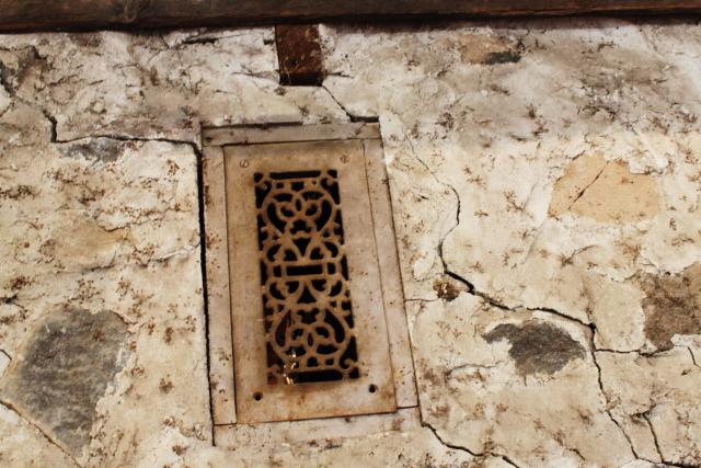 An original heating grate