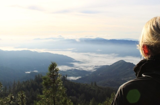 The view from Mt. St. Helena