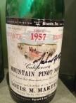 1957 Martini Pinot Noir
